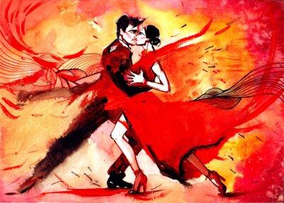 Фотообои танго