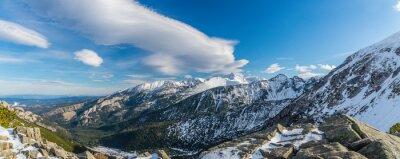 Фотообои Татр ведьма красивые облака
