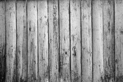 Фотообои текстурированный фон из старых досок. Черно-белая фотография