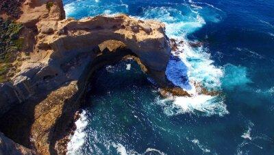Фотообои Arch. Образование пород вдоль Great Ocean Road, Австралия. Aeri
