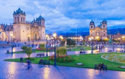 Фотообои Собор в Куско, Перу