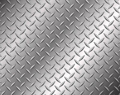 Фотообои The diamond steel metal texture background