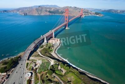 Фотообои Мост Золотые Ворота в заливе Сан-Франциско