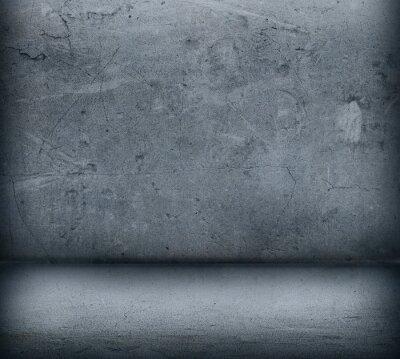 Фотообои Серая бетонная стена и пол крупным планом