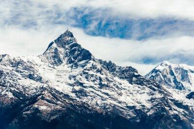 Фотообои Machhapuchhre (Fish Tail) в регионе Аннапурна, Непал. Фильм эмуляции применения фильтра.
