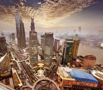 Фотообои Современное здание в Шанхае, Китай.