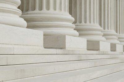 Фотообои Ряд классических колонн с шагом
