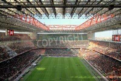 Фотообои Сан-Сиро во время футбольного матча в Милан