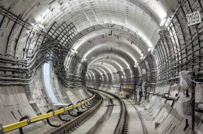 Фотообои Туннель метро