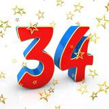 Поздравления с днем рождения с 34 лет 7