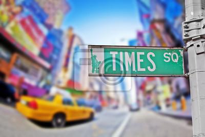 Фотообои Times square sign