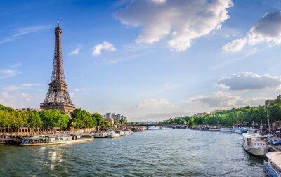 Фотообои Эйфелева башня и др Pont d'Iéna
