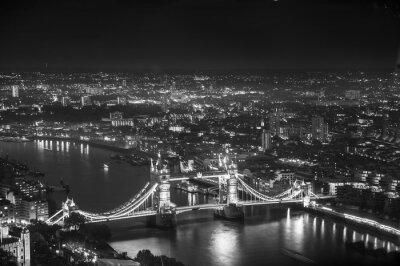 Фотообои Тауэрский мост в ночные огни, Лондон