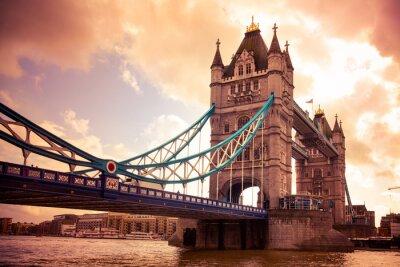 Фотообои Тауэрский мост в Лондоне, Великобритания