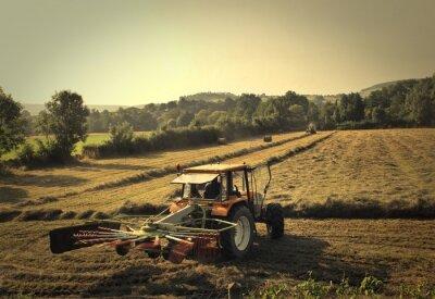 Фотообои трактор