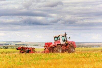 Фотообои Трактор на поле