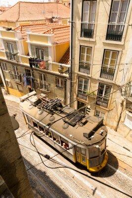 Фотообои Трамвай на улице