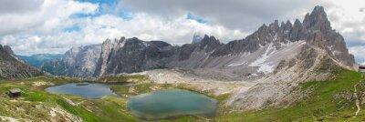 Фотообои Поход в Национальном парке Tre Cime, Доломиты
