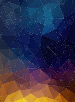 Фотообои Треугольник с плоским геометрическим красочный фон