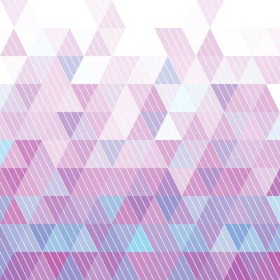 Фотообои Треугольники Pattern