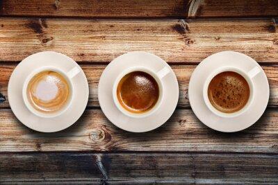 Фотообои трис-ди-caffè су Fondo Legno