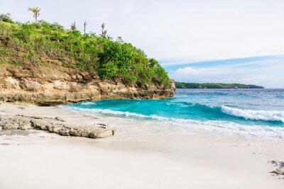 Фотообои Тропический белый песчаный пляж