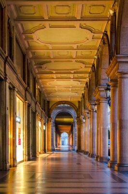 Фотообои Турин (Турин), типичные пассажи в историческом центре старого города