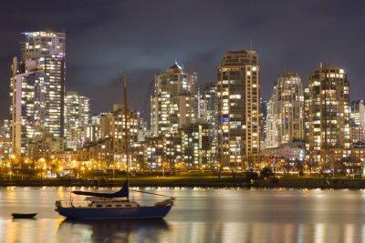 Фотообои Ванкувер Skyline и Парусник