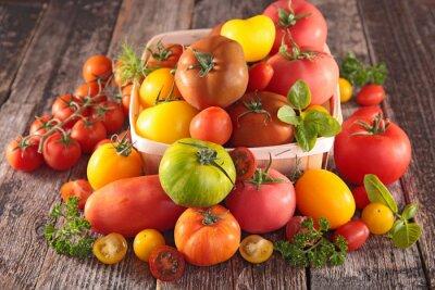 Фотообои Разнообразие томатов