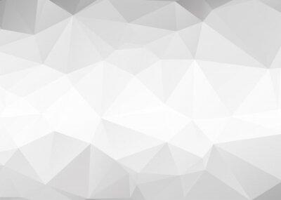 Фотообои Vector abstract gray triangles background