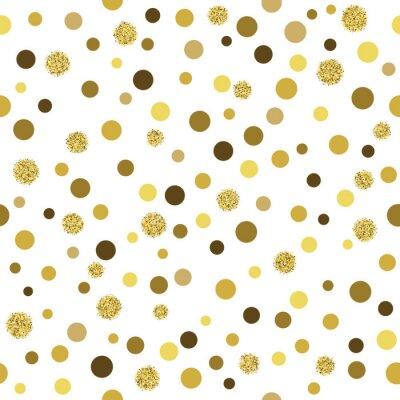 Фотообои Вектор золото блеск бесшовные модели
