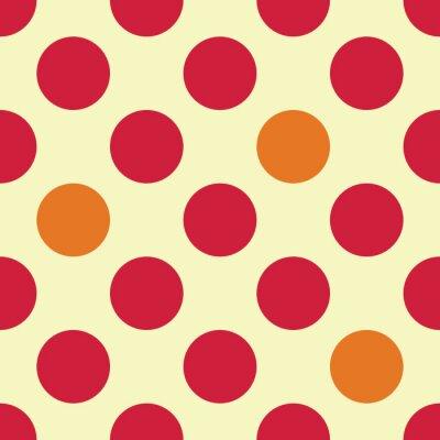 Фотообои Вектор современные бесшовные красочные картины геометрических точек, цвет абстрактных геометрических фон, разноцветные подушки печати, ретро текстуры, дизайн моды битник