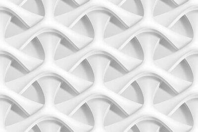 Фотообои Вектор бесшовные абстрактные геометрические 3d волны шаблон