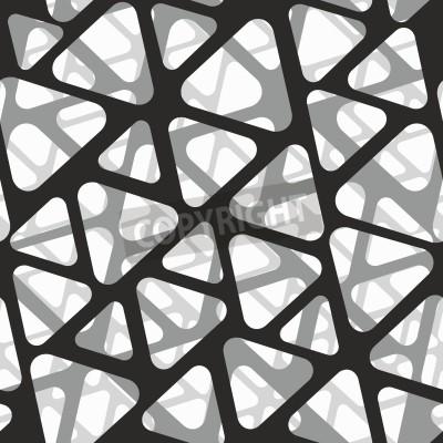 Фотообои Векторный бесшовные модели. Современная стильная 3d текстура сетки.