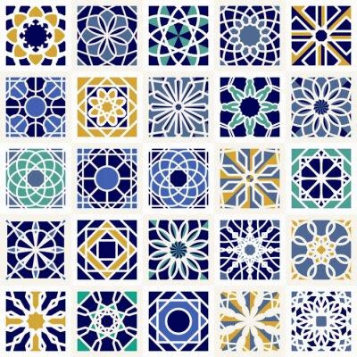 Фотообои Вектор Набор геометрических узоров