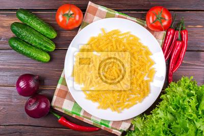 вермишель с овощами сухой