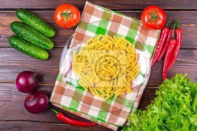 вермишель с овощами сухих