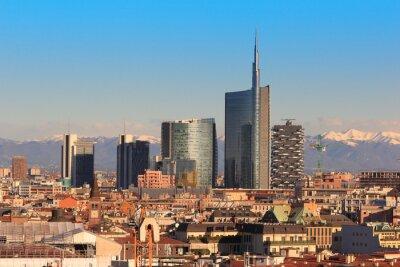Фотообои Views of Milan, Italy