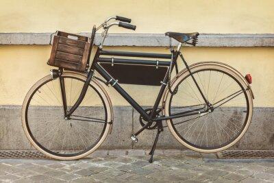 Фотообои Урожай велосипед с деревянной обрешеткой