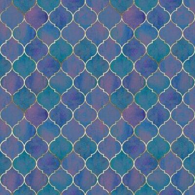 Фотообои Vintage decorative grunge indian, moroccan seamless pattern