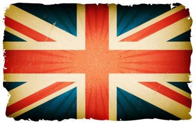 Фотообои Урожай английский флаг плакат фона