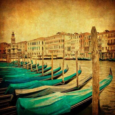Фотообои Старинные изображения из Гранд-канал, Венеция