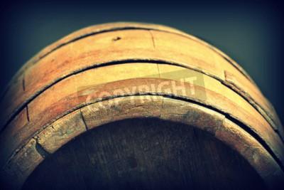 Фотообои Урожай Фото старой деревянной бочке