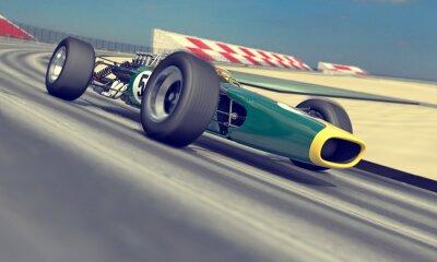 Фотообои старинные гонщик
