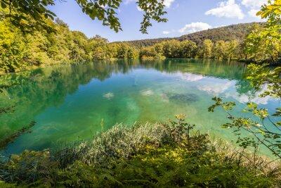 Фотообои Девственной природы национального парка Плитвицкие озера, Хорватия