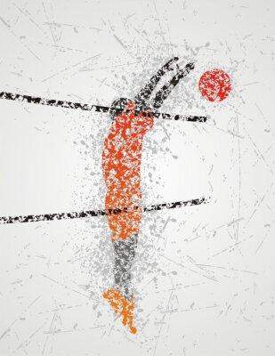 Фотообои волейболист