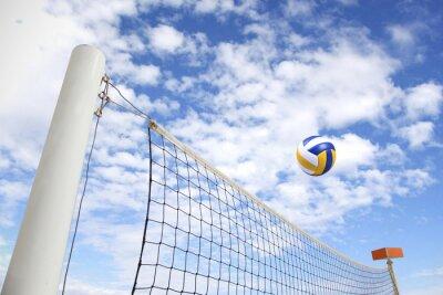 Фотообои волейбольная сетка