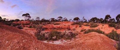 Фотообои WA Balladonia Red Soil 2 Panorama