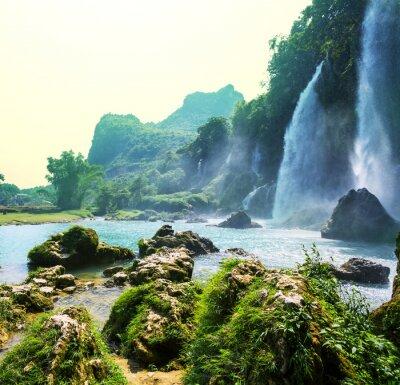 Фотообои Водопад во Вьетнаме