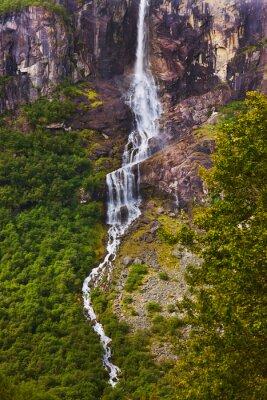 Фотообои Водопад вблизи Бриксдаль ледника - Норвегия